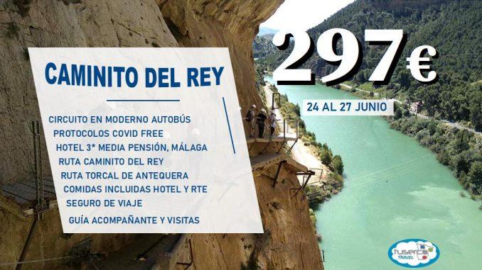 Oferta Caminito del Rey Puente de San Jose - Tuserco travel