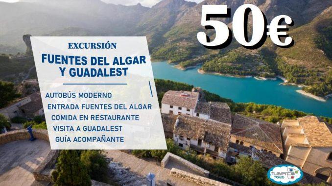 Fuentes del algar y Guadalest